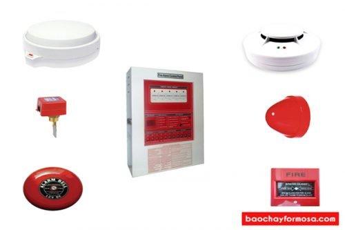 Tìm hiểu thiết bị cần thiết cho hệ thống báo cháy Formosa